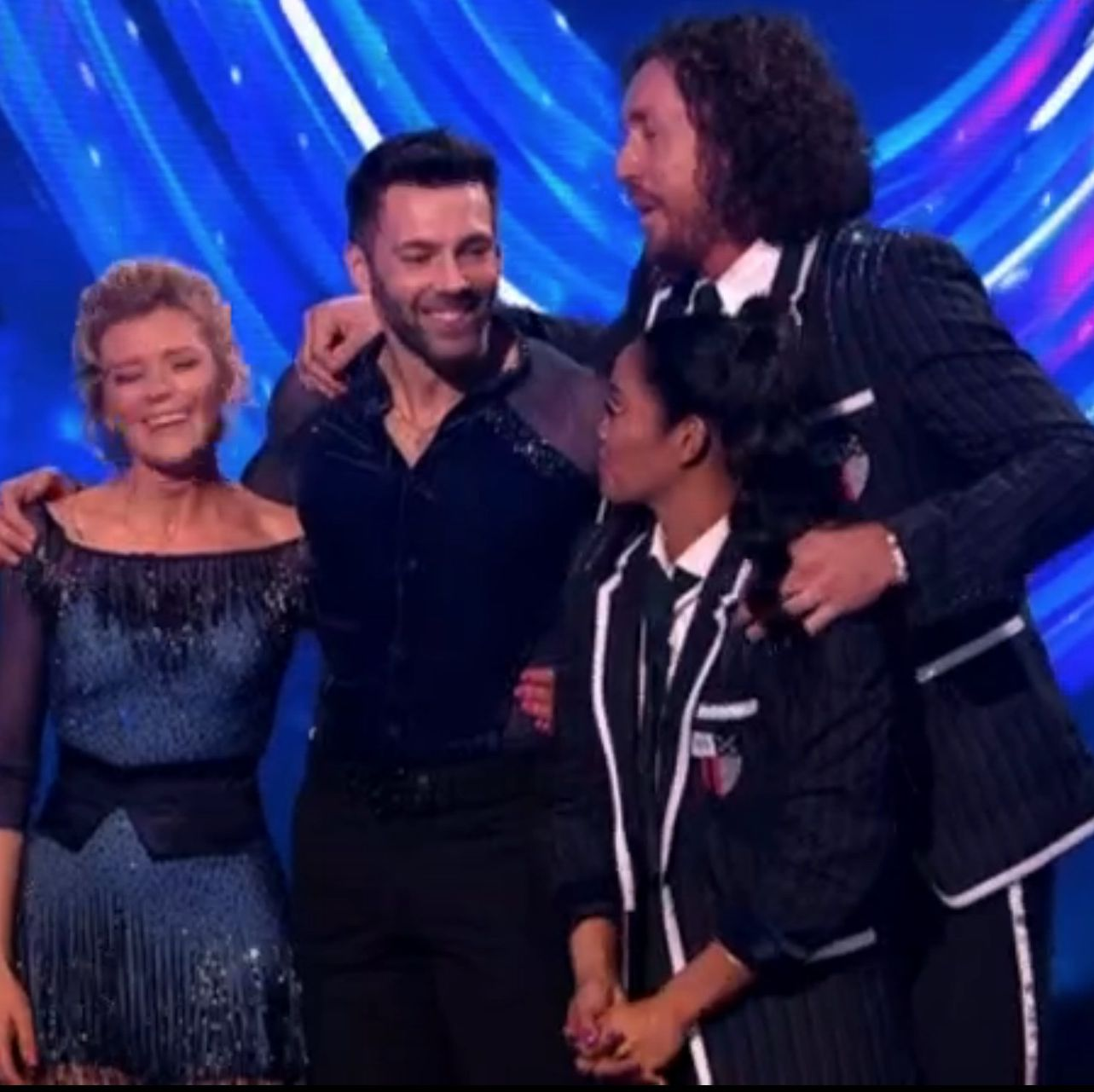Dancing on Ice loses its sixth and seventh celebrities as Ryan Sidebottom and Jane Danson leave the competition