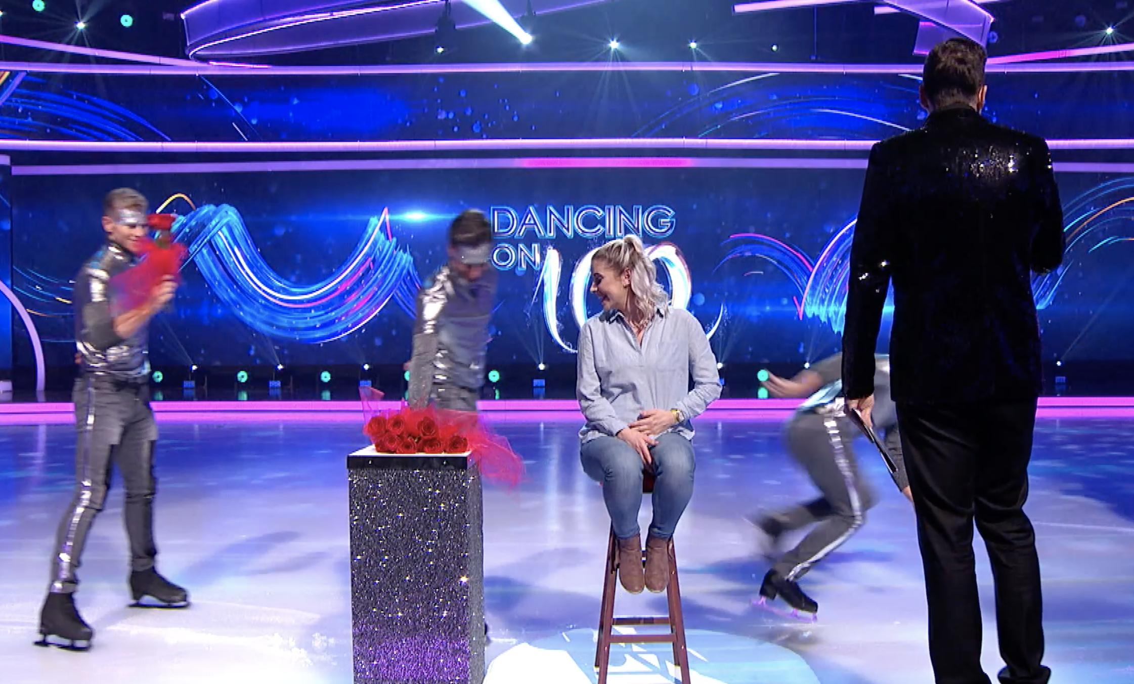 Aquí está la propuesta de boda de Dancing on Ice que no pudiste ver en TV