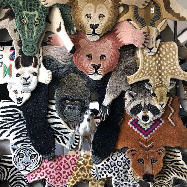 荷蘭家居品牌Doing Goods推出可愛動物地毯!為家中增添趣味狩獵IG風格