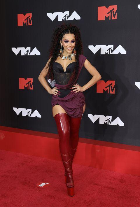 2021 mtv video music awards alfombra roja doja cat