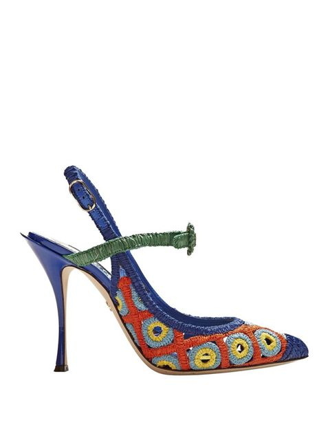 Footwear, High heels, Slingback, Shoe, Sandal, Mary jane, Electric blue, Basic pump, Court shoe,