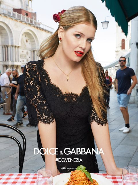 4018cdf2f73 ... Dolce   Gabbana s Spring  Summer 2018 ad campaign. image. Lady Kitty  Spencer. COURTESY THE MORELLI BROTHERS   DOLCE GABBANA