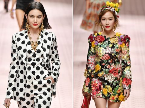 a56de7fc Dolce & Gabbana enlisted a starry and diverse cast for its SS19 show