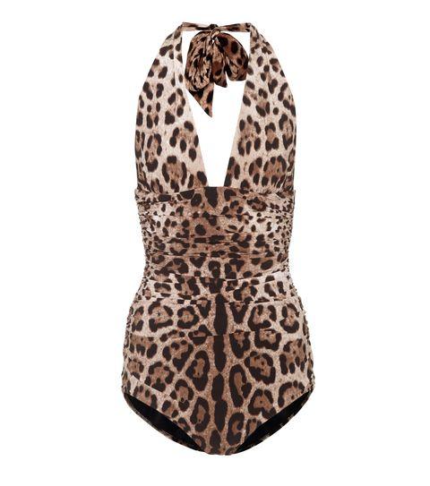 Bañador de leopardo