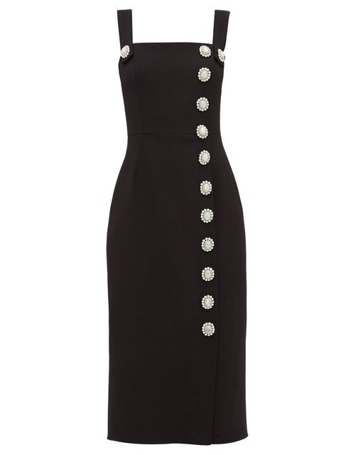 Clothing, Dress, Cocktail dress, Black, Little black dress, Day dress, Pattern, Sheath dress, Formal wear, A-line,