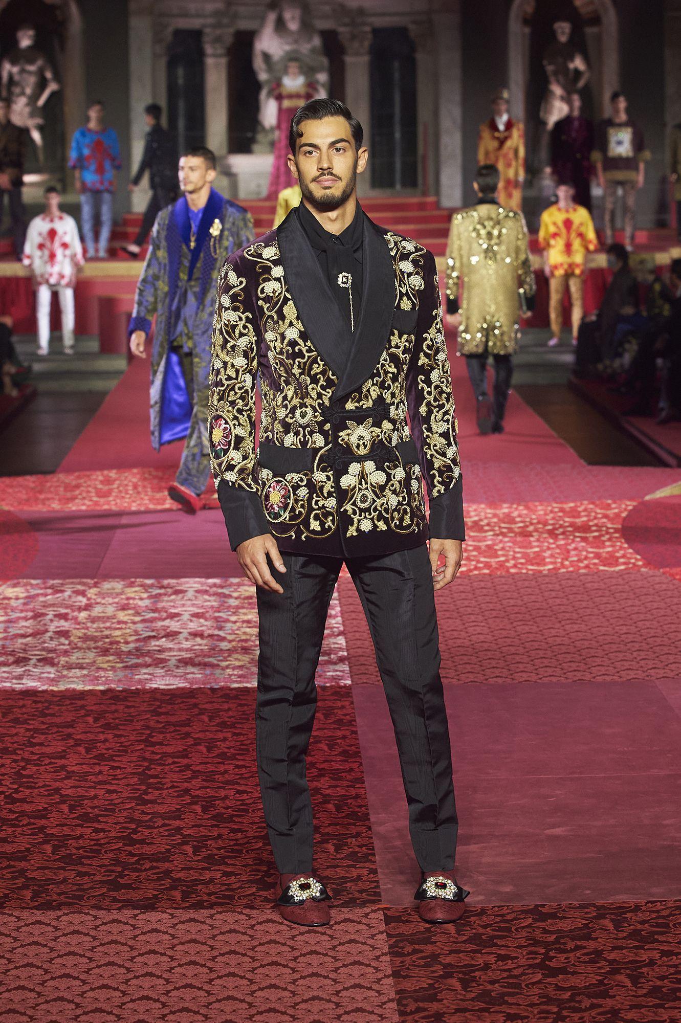 Dolce & Gabbana celebra un secondo Rinascimento italiano con l'Alta Sartoria