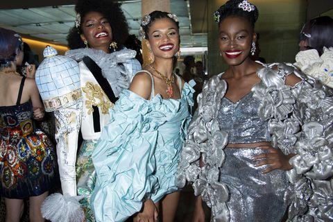 dolce and gabbana alta moda show in venice