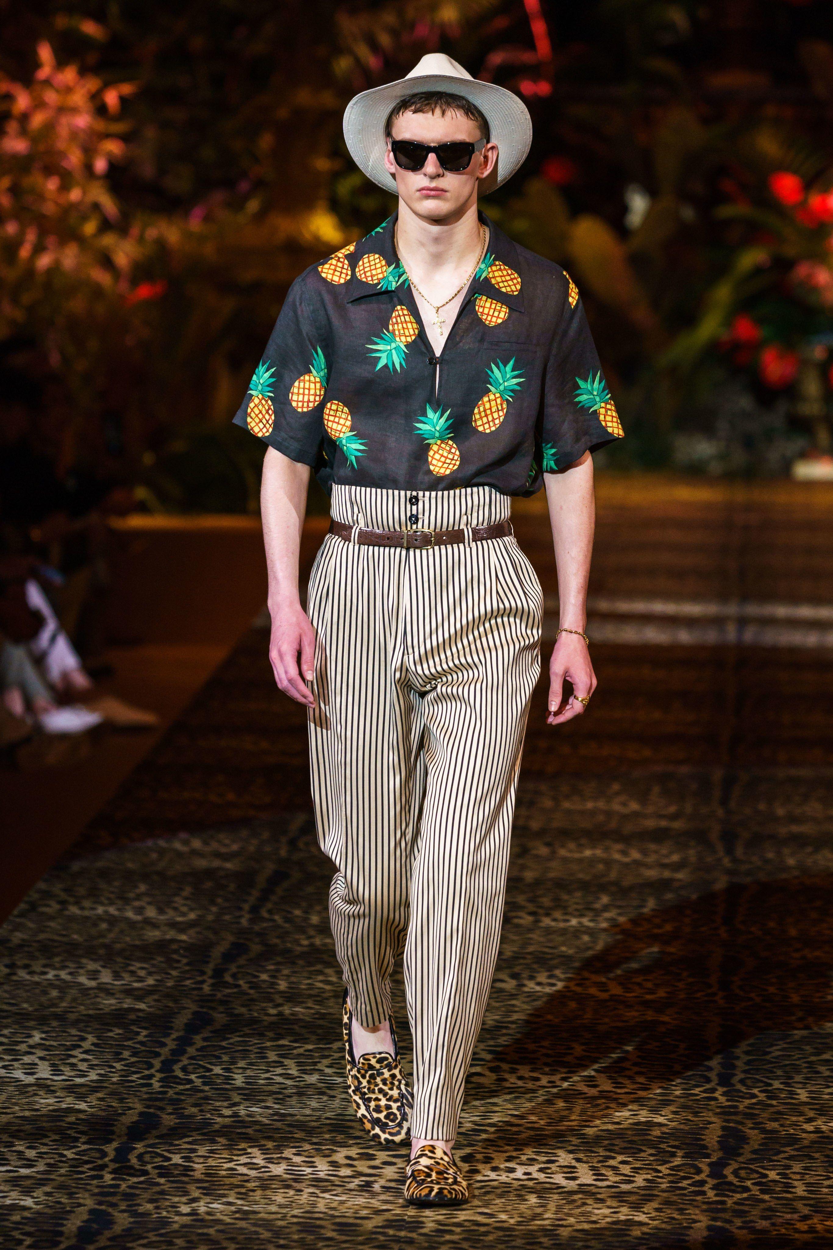 Las Tendencias En Moda Hombre Para La Primavera Verano 2020 Que Viene De Milan