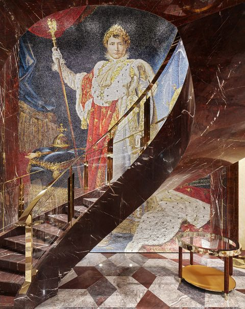 Art, Architecture, Visual arts, Mural, Painting, Illustration, History, Middle ages, Stairs, Prophet,