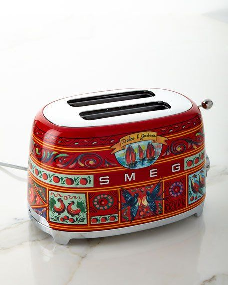 dolce gabbana smeg kitchen appliances