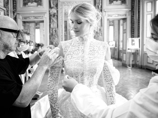 El espectacular vestido de novia de Lady Kitty Spencer