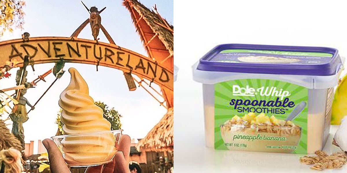 Dole Is Releasing A Line Of Dole Whip Spoonable Smoothies
