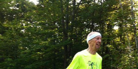 George Dole running