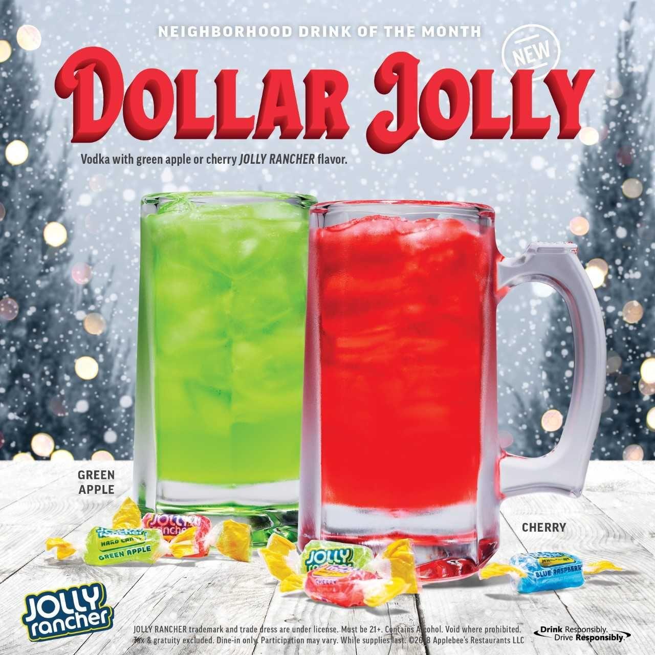Applebee S December Dollar Drink Tastes Like A Boozy Jolly