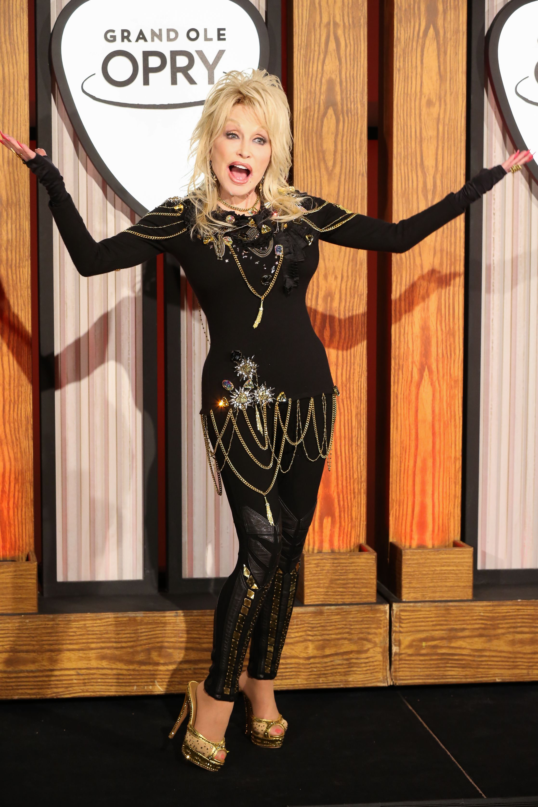 Dolly Parton's Outfit at Her Grand Ole Opry Celebration Was as Wild As You'd Expect