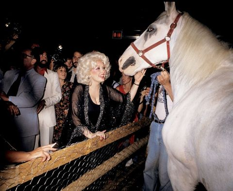 dolly parton concert after party at studio 54   may 22, 1978