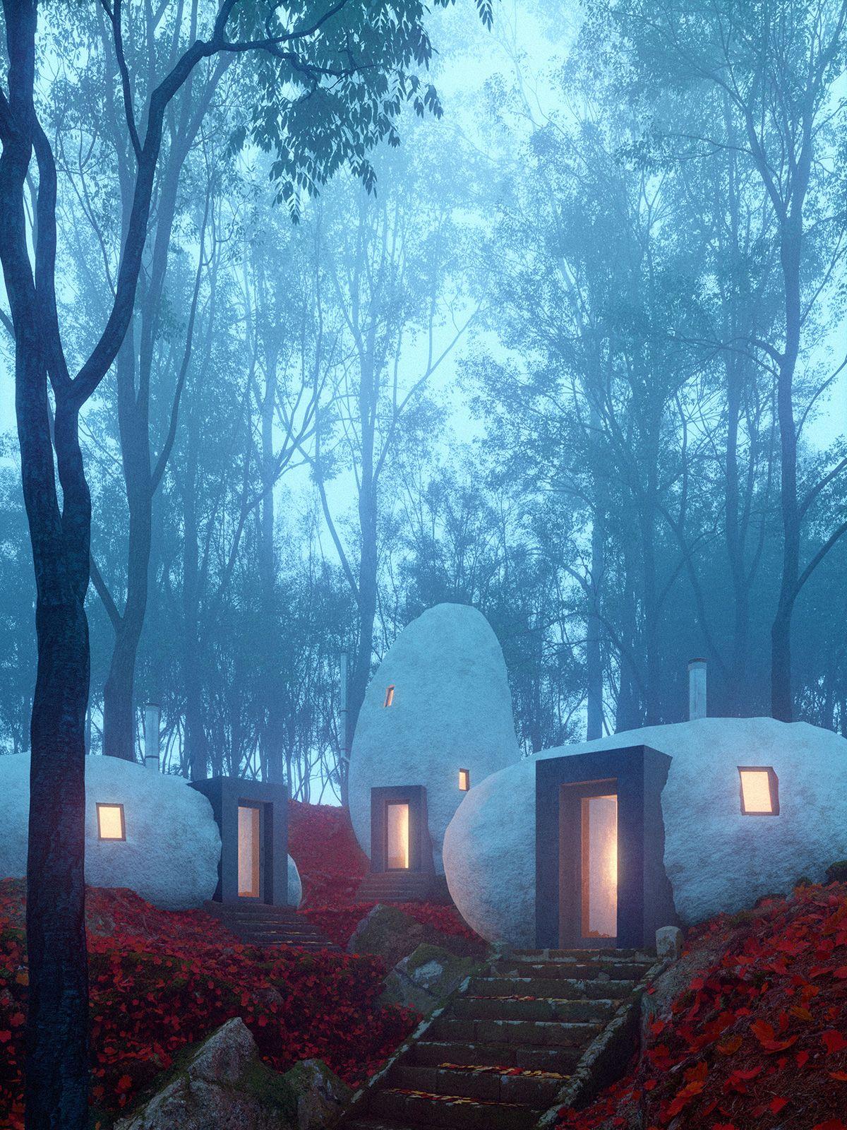 Un hotel de ensueño para dormir en el interior de una roca