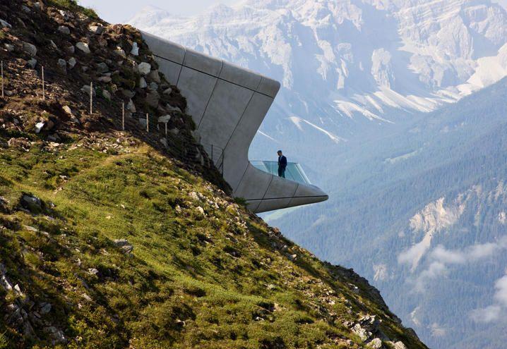 Sulle Dolomiti | MMM Corones | Zaha Hadid