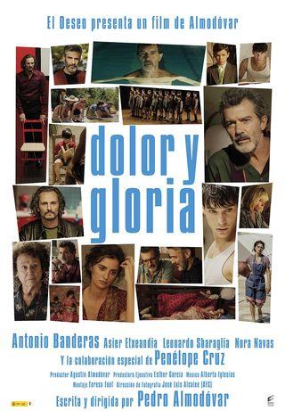 """Cartel de """"Dolor y gloria"""""""