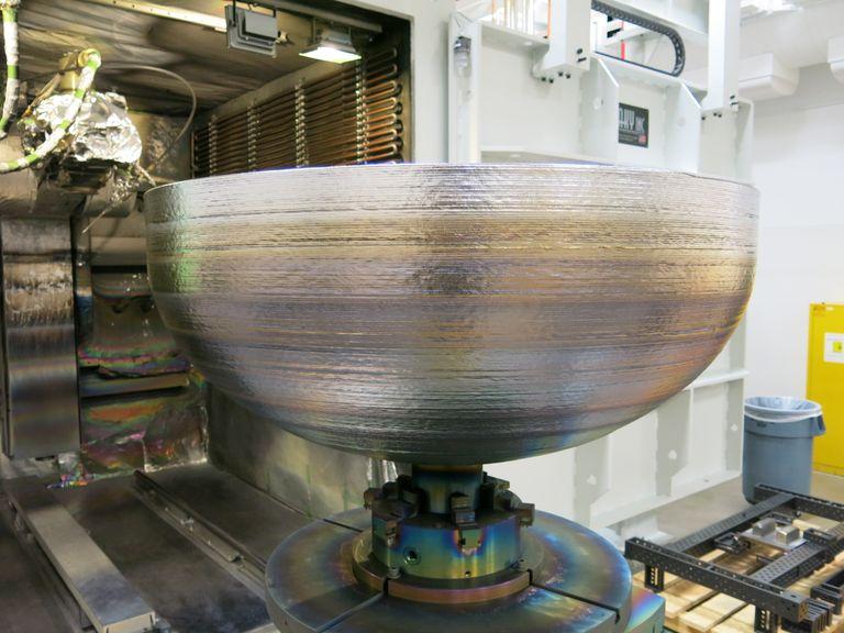 3D printed satellite parts