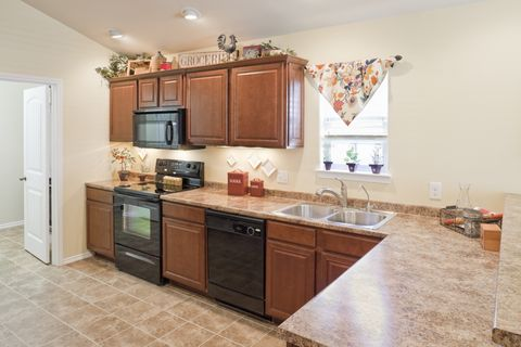 Kitchen With Plastic Laminate Countertop
