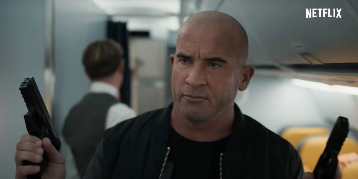 Prison Break's Dominic Purcell stars in trailer for new Netflix movie Blood Red Sky