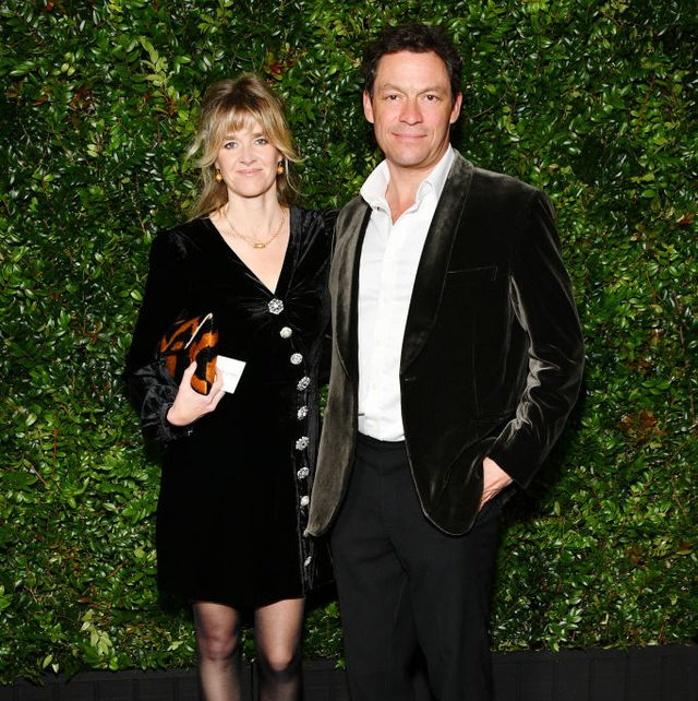 dominic west's wife speaks out on ups and downs in marriage amid lily james drama
