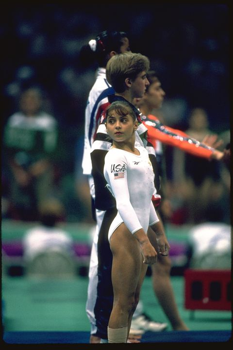 dominique moceanu at the atlanta olympic games