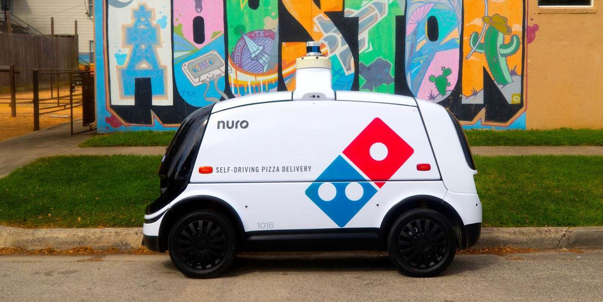 Domino's Is Testing Self-Driving Robots That Will Deliver You Your Pizza