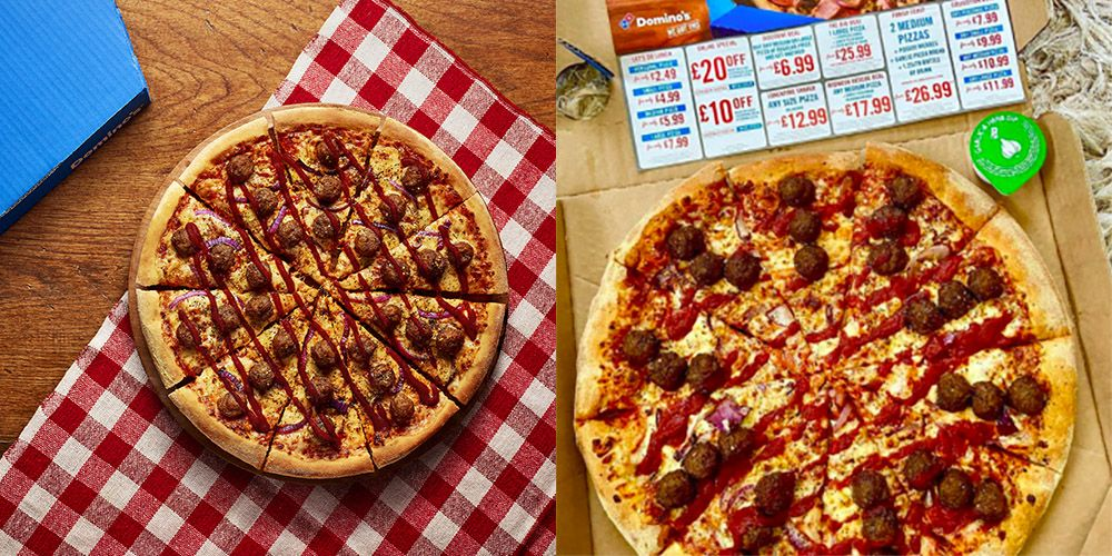 Domino's Meatball Marinara Pizza Is Fully Loaded With Meatballs, Onions And Herbs!