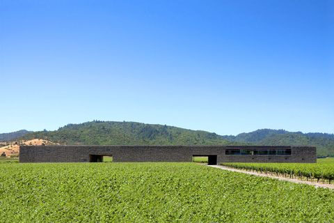 Dominus Estate, de Herzog and de Meuron en Napa Valley (California)