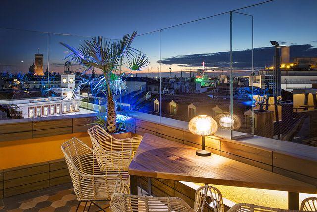 terraza de doñaluz, madrid