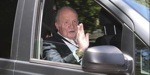 Rey Juan Carlos, Juan Carlos retirada, Rey emérito