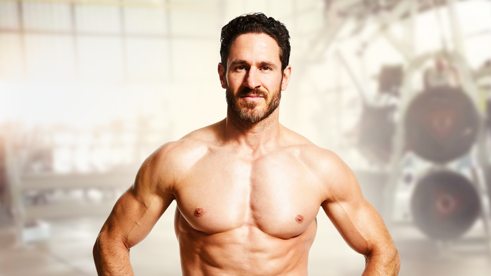 The Trainer Behind Top Superhero Stars Shares His Chest Workout