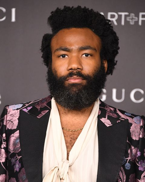 los angeles, california   november 02  donald glover arrives at the lacma art  film gala presented by gucci at lacma on november 02, 2019 in los angeles, california photo by steve granitzwireimage