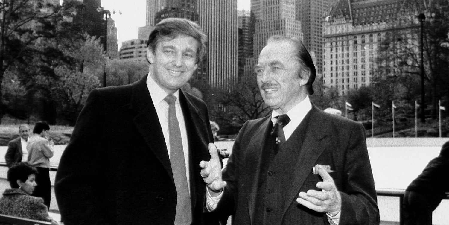 Image result for Images Trump and his father