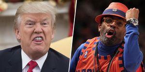 Spike Lee vs Trump oscar twitter