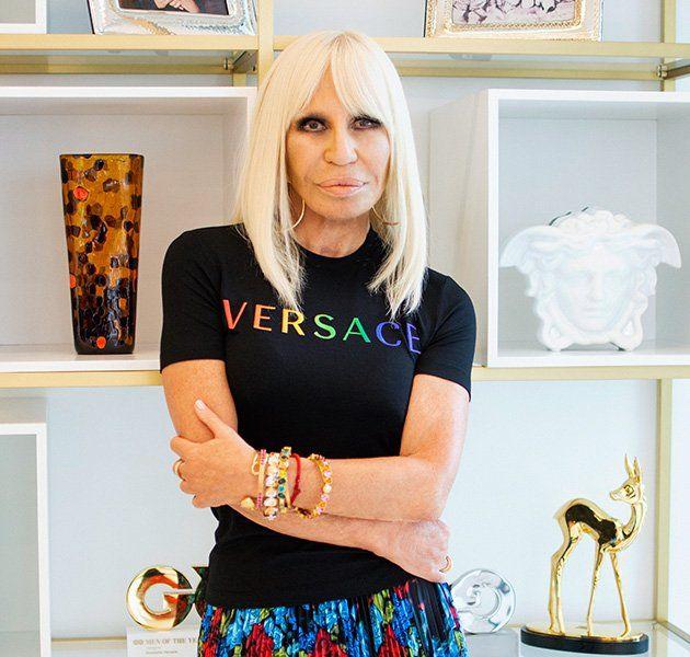 versace, donatella versace, fashion, designer, luxury, pride