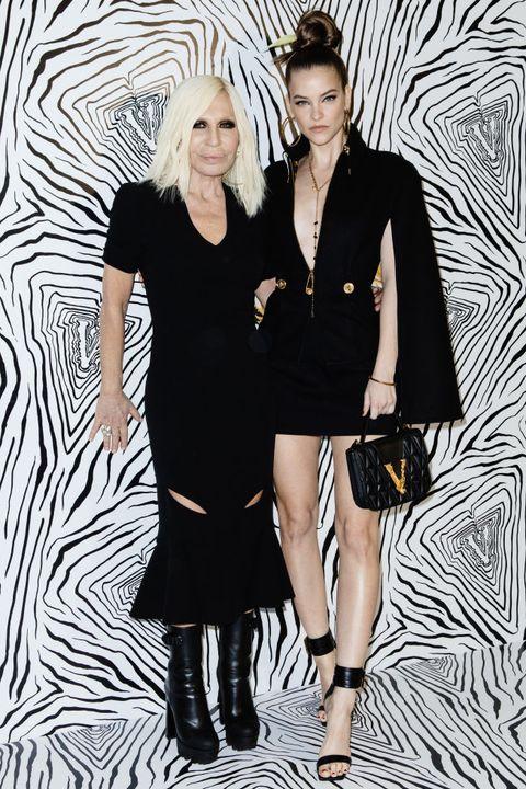 Versace - Backstage - Milan Fashion Week Fall/Winter 2020-2021