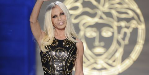 228a5351a2d3 Who Is Donatella Versace - Fun Facts About Donatella Before American ...