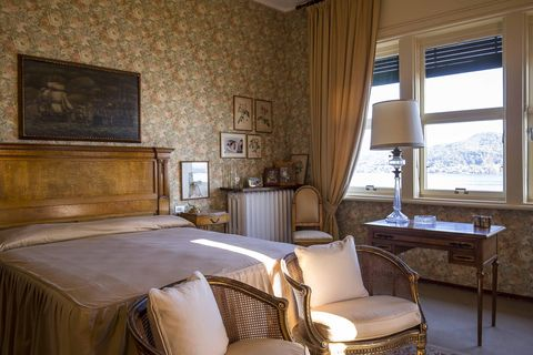 Room, Furniture, Bedroom, Property, Interior design, Bed, Bed frame, Bed sheet, Building, Wall,