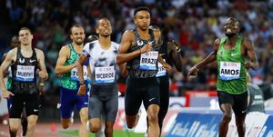 Donovan Brazier y Nijel Amos en los 800m de Zurich