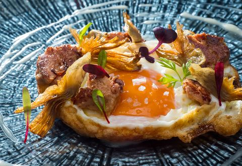 donde comer mejores platos con huevo, huevos, platos de huevo,huevos madrid