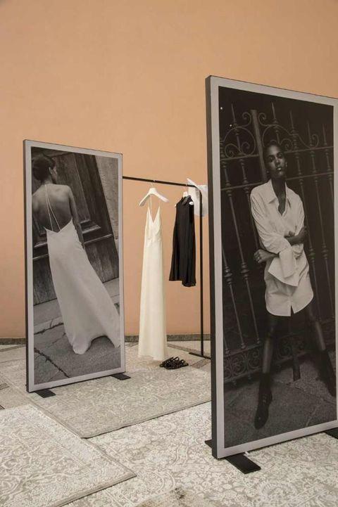 Urinal, Room, Door, Clothes hanger, Advertising,
