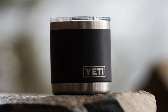 a yeti mug