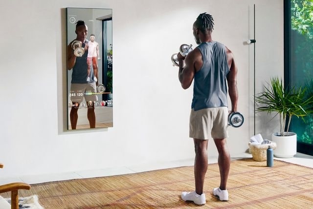 mirror home fitness gym