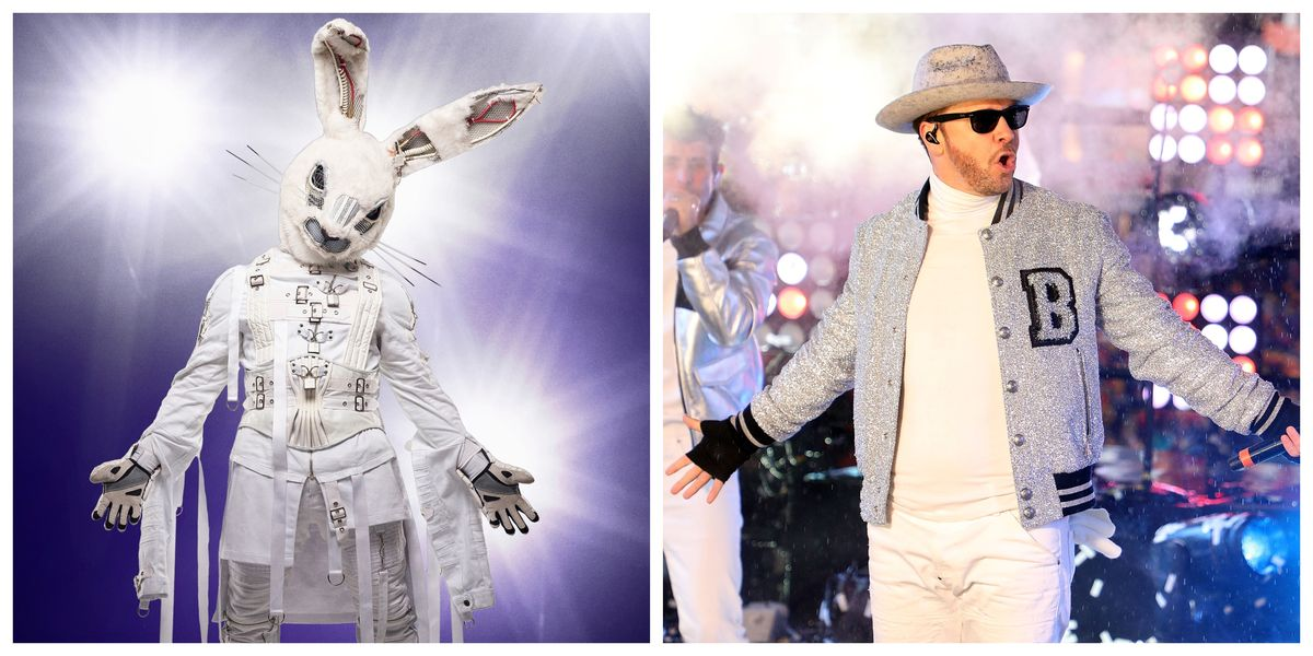 Donnie Wahlberg Is The Rabbit On The Masked Singer Here