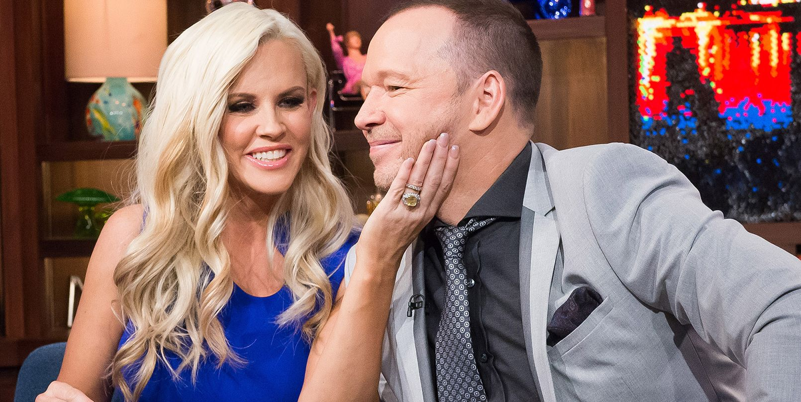 Donnie Wahlberg's Wife Jenny McCarthy Does the Strangest Thing While Watching 'Blue Bloods'