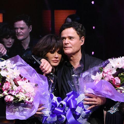 Donny & Marie Osmond Celebrate Their Final Performance At Flamingo Las Vegas
