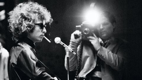 bob dylan en el documental don't look back